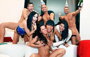 La super orgía española de año nuevo