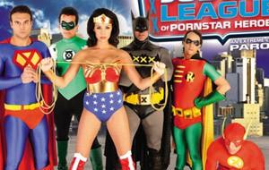 Pornoparodias: Justice League of Pornstars