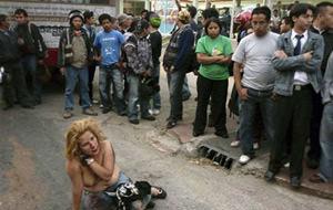 Linchamiento en público (Guatemala)