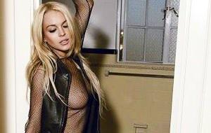 Las fotos descartadas de Lindsay Lohan (MUSE)