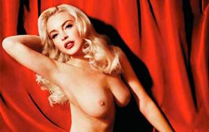 El desnudo de Lindsay Lohan para Playboy se adelanta una semana