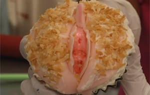 Gastronomía sexual: magdalena de coño