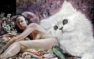 Erotismo, pesadillas y gatitos con Martin Eder