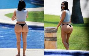 El verdadero culo de Kim Kardashian