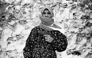 Mujeres en el ejército sirio