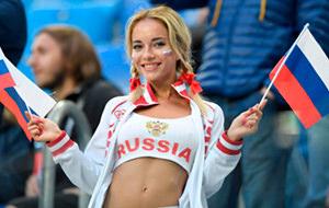 El porno de la hincha más guapa de Rusia en el Mundial
