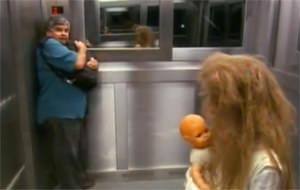 La niña fantasma del ascensor brasileño