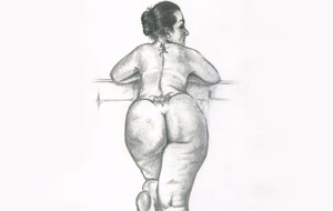 Los dibujos eróticos de Noel Zepeda