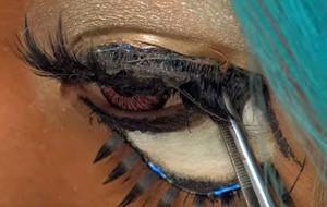 Maquillaje hardcore: los ojos Ganguro