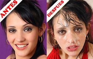 Maquillando rostros de argentinas 1a parte