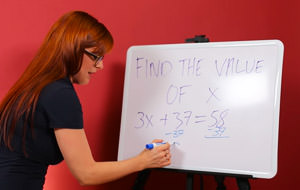 Pornstars: Matemáticas con el coño a tope