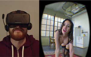 La primera broma para el porno virtual