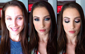 Le miracle du maquillage chez les pornstars