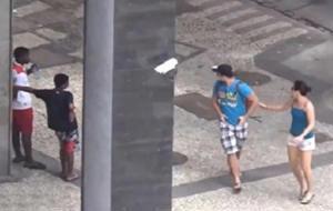 La modalidad olímpica de robo en Brasil