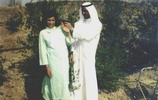 Los flirteos del jovencito Saddam Hussein