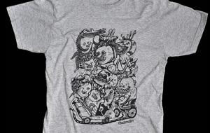 Nueva colección de camisetas Orgasmatrix