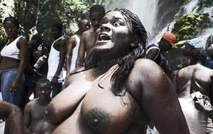 Purificación y limpieza del cuerpo en Haití