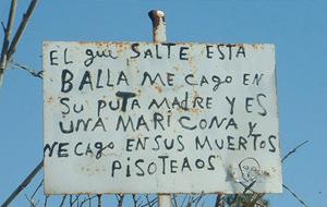 Seguridad typical Spanish