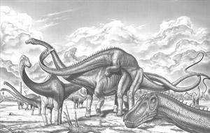 Sexo con dinosaurios, porno de serie Z
