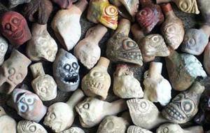 El espeluznante sonido del silbato de la muerte azteca