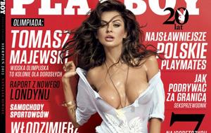 La polaca Natalia Siwiec posando para Playboy