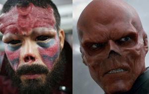 El tío que se está convirtiendo en el villano Red Skull
