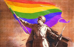 Propaganda soviética convertida en orgullo gay
