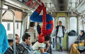 Los problemas de ser Spider-Man en Egipto