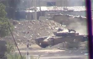 Ese tanque te está mirando
