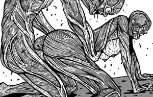 El porno gore ilustrado de Tengu Guro