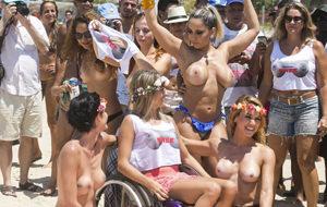 Por la legalización del topless en Brasil: la lucha sigue
