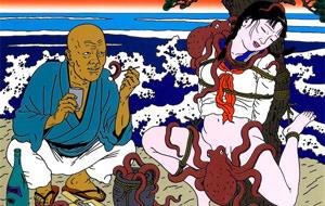 Toshio Saeki y su arte tradicional perverso
