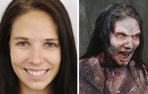 The Walking Dead: zombis antes y después