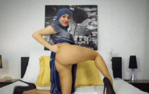 Twerking con hiyab se está poniendo de moda