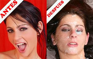 Maquillando rostros de argentinas 2a parte