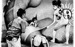 El erotismo daliniano de Dimitry Vorsin