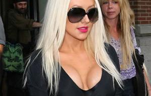 Vuelven las tetas de Christina Aguilera