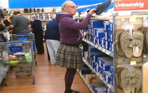El lado divertido de ir al súper (Wal-Mart)