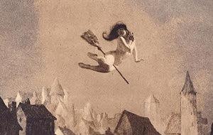 William Mortensen: Brujería y libertinaje (1920)