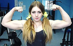 Yulia Vins, una joven que podría partirte en dos