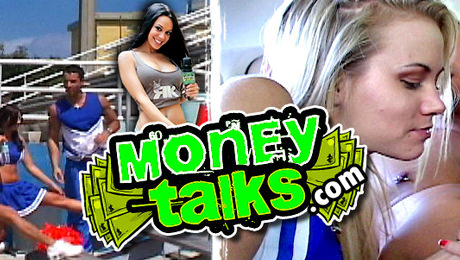 Sensual and money talks interracial